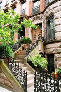 NYC Brooklyn brownstone building
