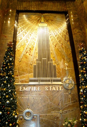 NYC inside Empire State Building