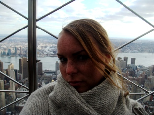 NYC on top of the Empire State Building