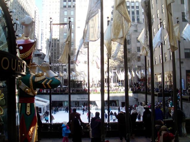 Rockefeller Center plaza ice rink