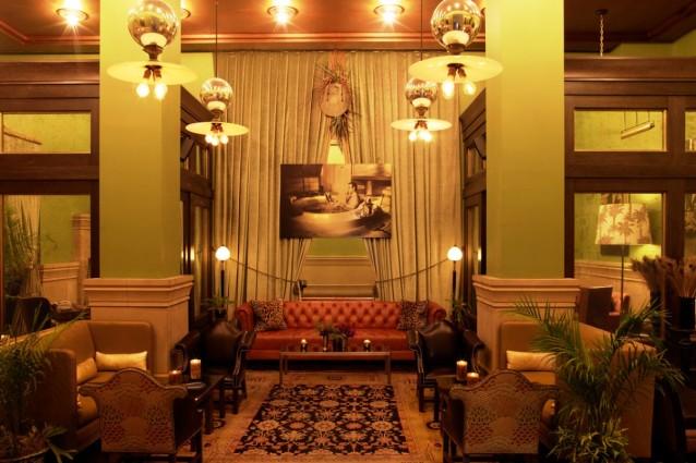 NYC Soho Grand Club Room