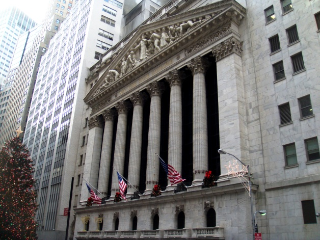 NYC Stock Exchange Wall Street