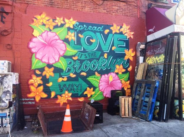 Williamsburg and Brooklyn street art
