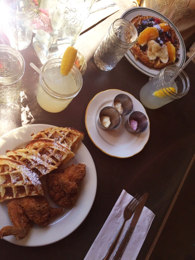 NYC Williamsburg Chicken and Waffles