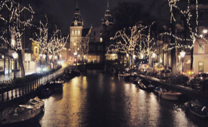 Amsterdam canals at night (3)
