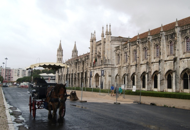 Jerónimos Monastery on the Rua de Belém