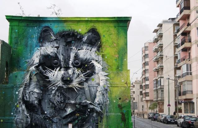 Belém street art