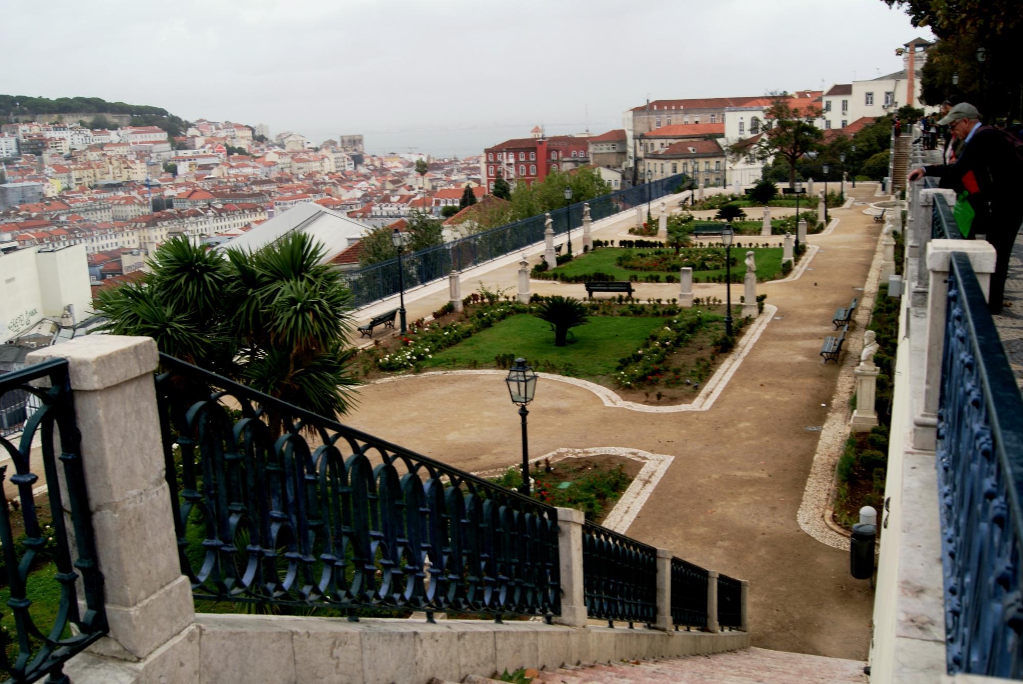 Miradouro de Sao Pedro de Alcantara