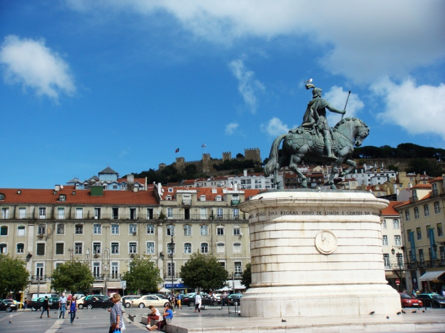 Lisbon squares and George castle (2)