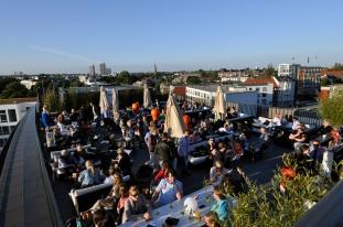 The George hotel Campari lounge terrace (1)