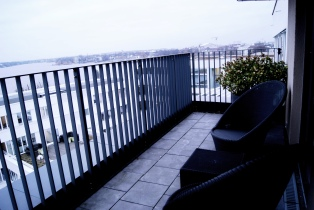 The George hotel Hamburg suite terrace (2)