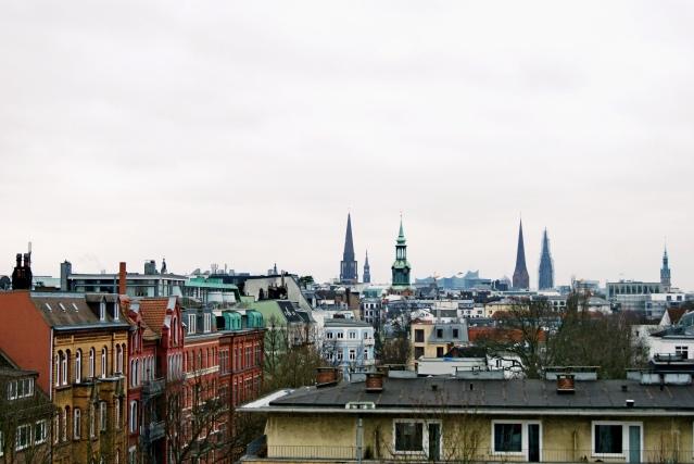 The George hotel Hamburg view