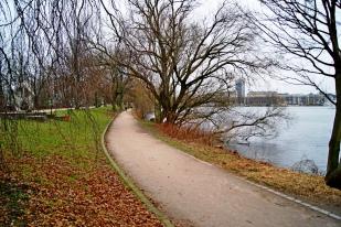 Alster views Hamburg