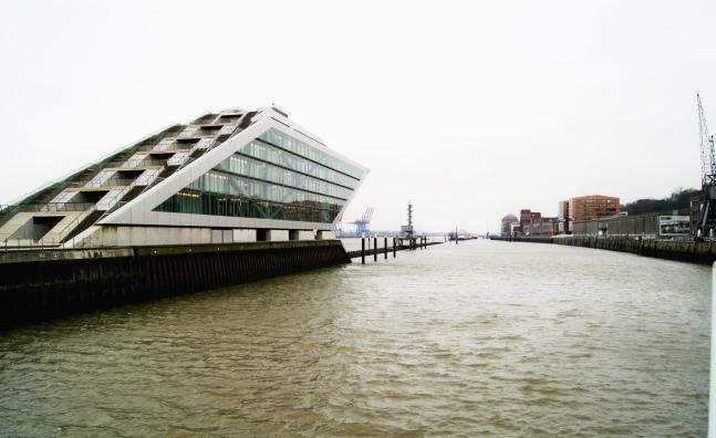 Dockland building Hamburg