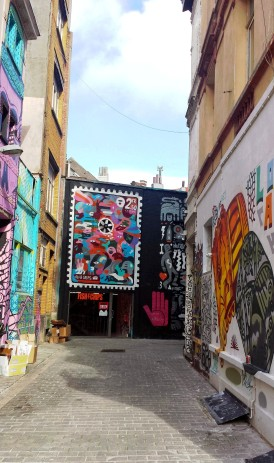 Travel Authentic Chic Antwerp backstreets