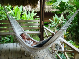 Costa Rica Azánia bungalows hammock