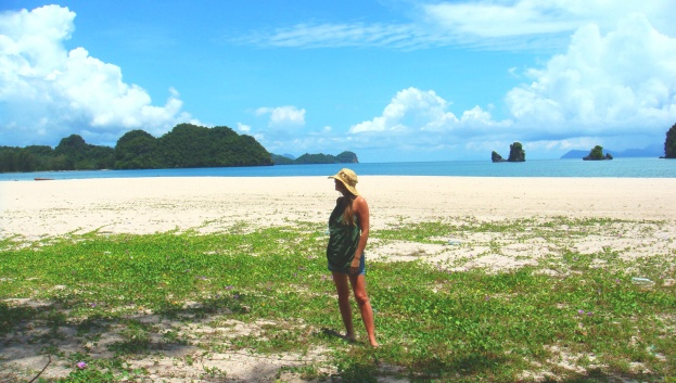 Quiet beaches in the north of Langkawi