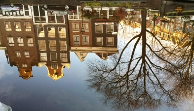 Amsterdam-9 streets reflections