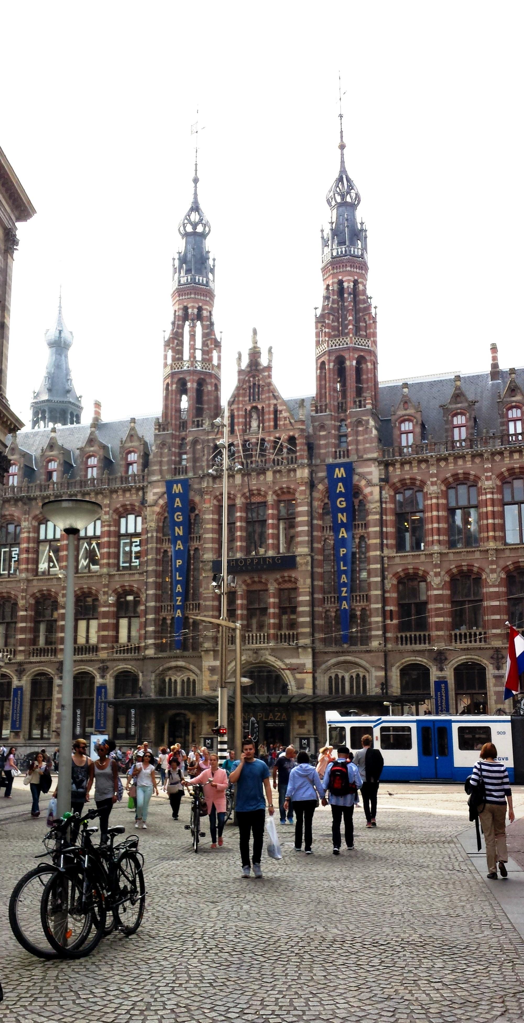 Amsterdam Magna Plaza shopping mall