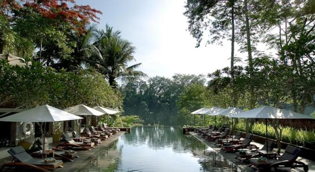 Bali Maya Ubud swimmingpool