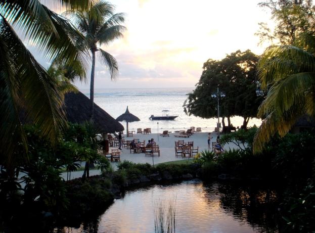 Mauritius Hilton beach and views