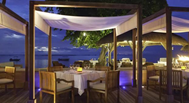 Mauritius Hilton dinner