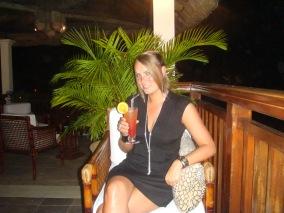 Mauritius Hilton cocktails