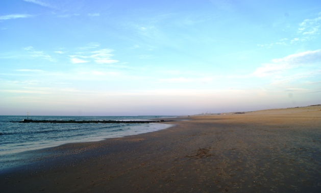 Endless stretches of sand and quietness