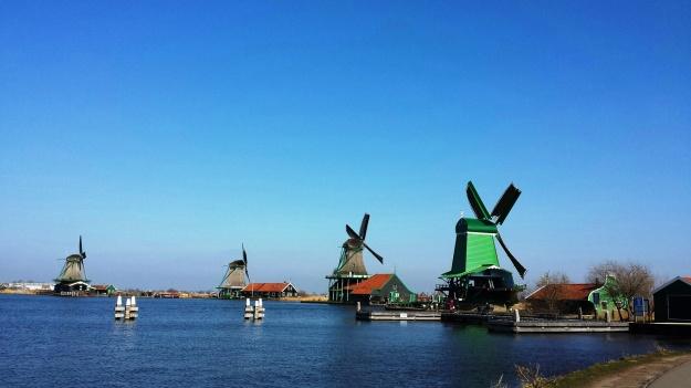Zaanse Schans heritage windmills