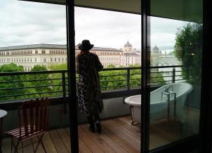 25Hours Museumquarter hotel room Vienna