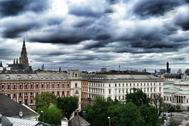 25Hours rooftop view leftside Vienna