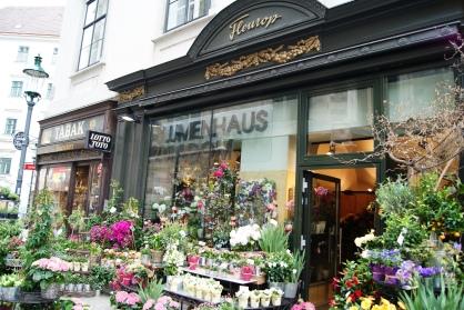 Authentic Vienna flowershops
