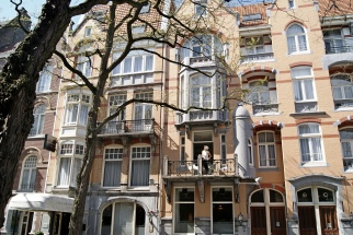 Bilderberg Hotel Jan Luyken Amsterdam facade balcony