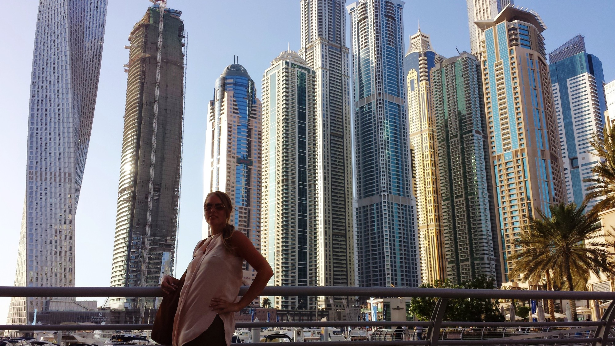 Dubai city of skyscrapers
