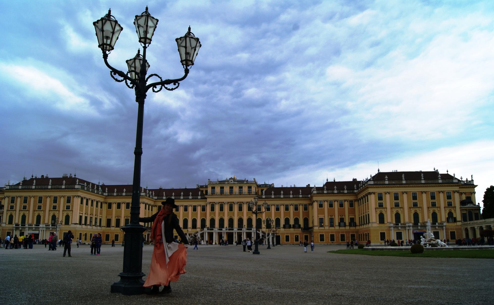 Feeling like Sisi at Schloss Schonbrunn Vienna