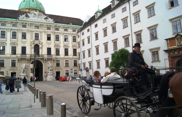 Hofburg Vienna courtyard