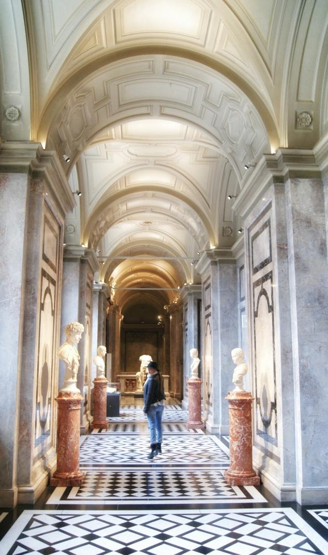Kunsthistorisches Museum arches Vienna