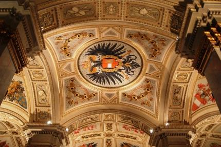 Kunsthistorisches Museum ceiling Vienna