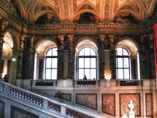 Kunsthistorisches museum's architecture Vienna