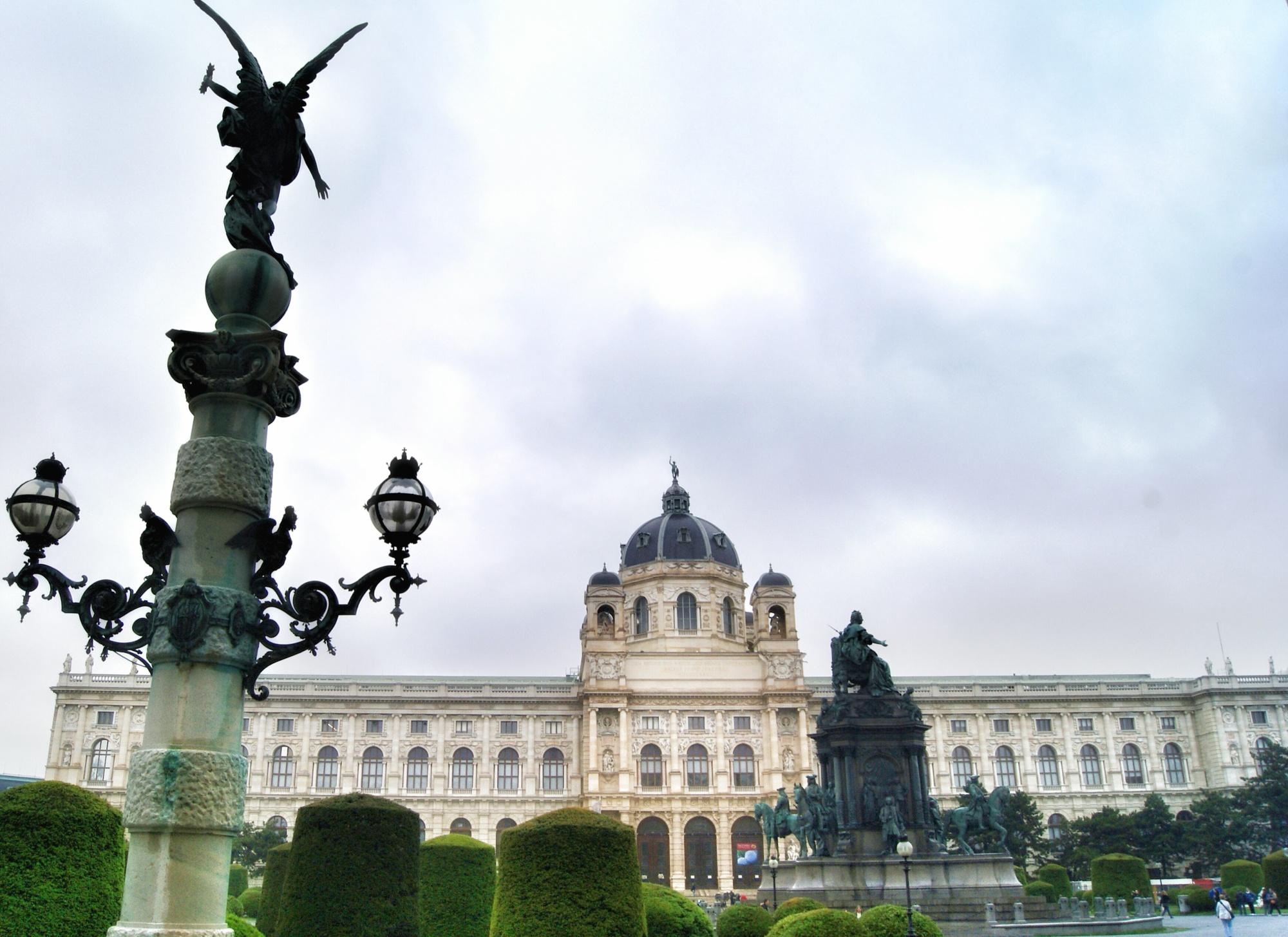 Naturhistorisch museum Vienna frontside