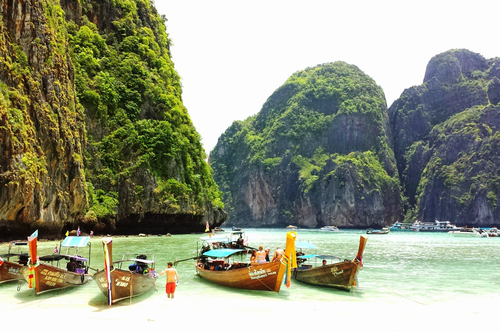 Phuket and Phi Phi's hotspots
