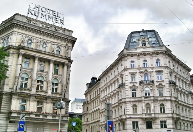 Just a random Viennese street view
