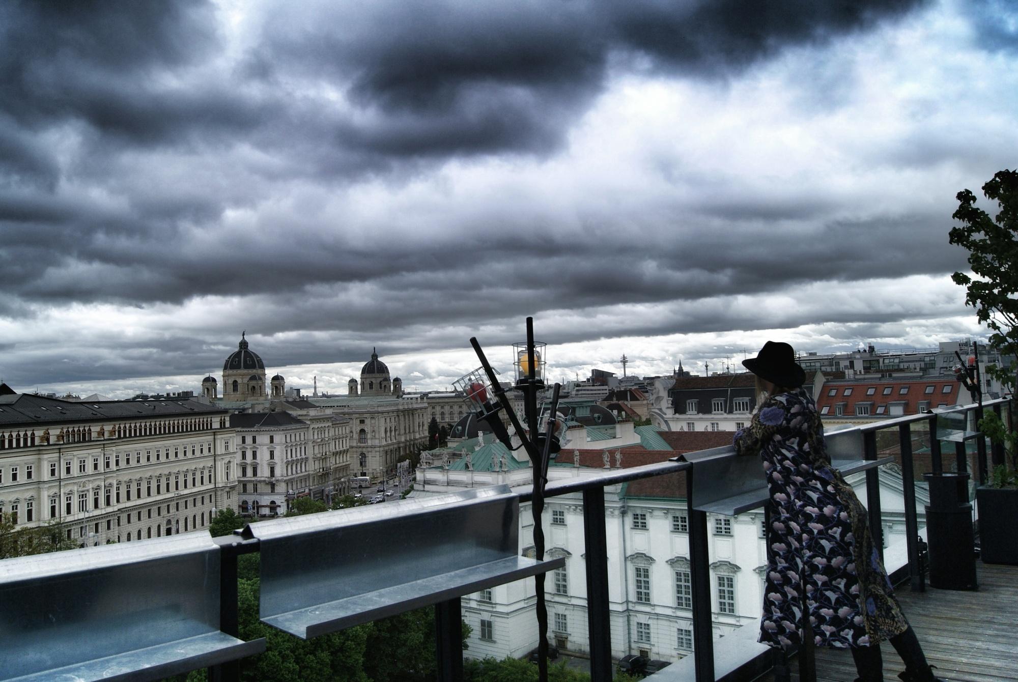 25Hours hotel Dachboden bar Vienna