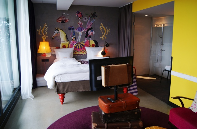 25hours Hotel Vienna panoramic suite