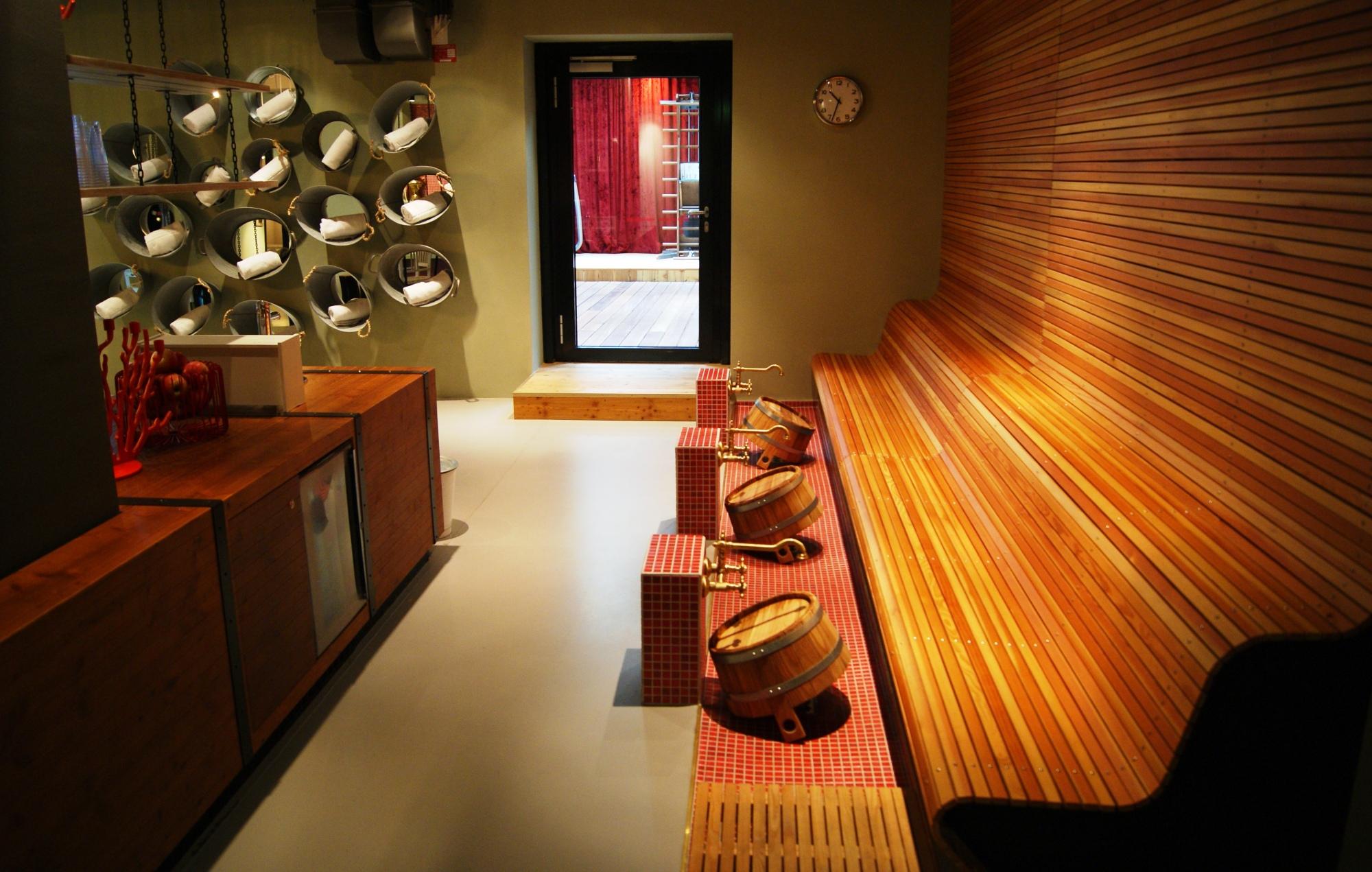 25hours Hotel Vienna sauna