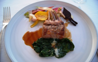 Althoff hotel Le Belrose chef's dinner
