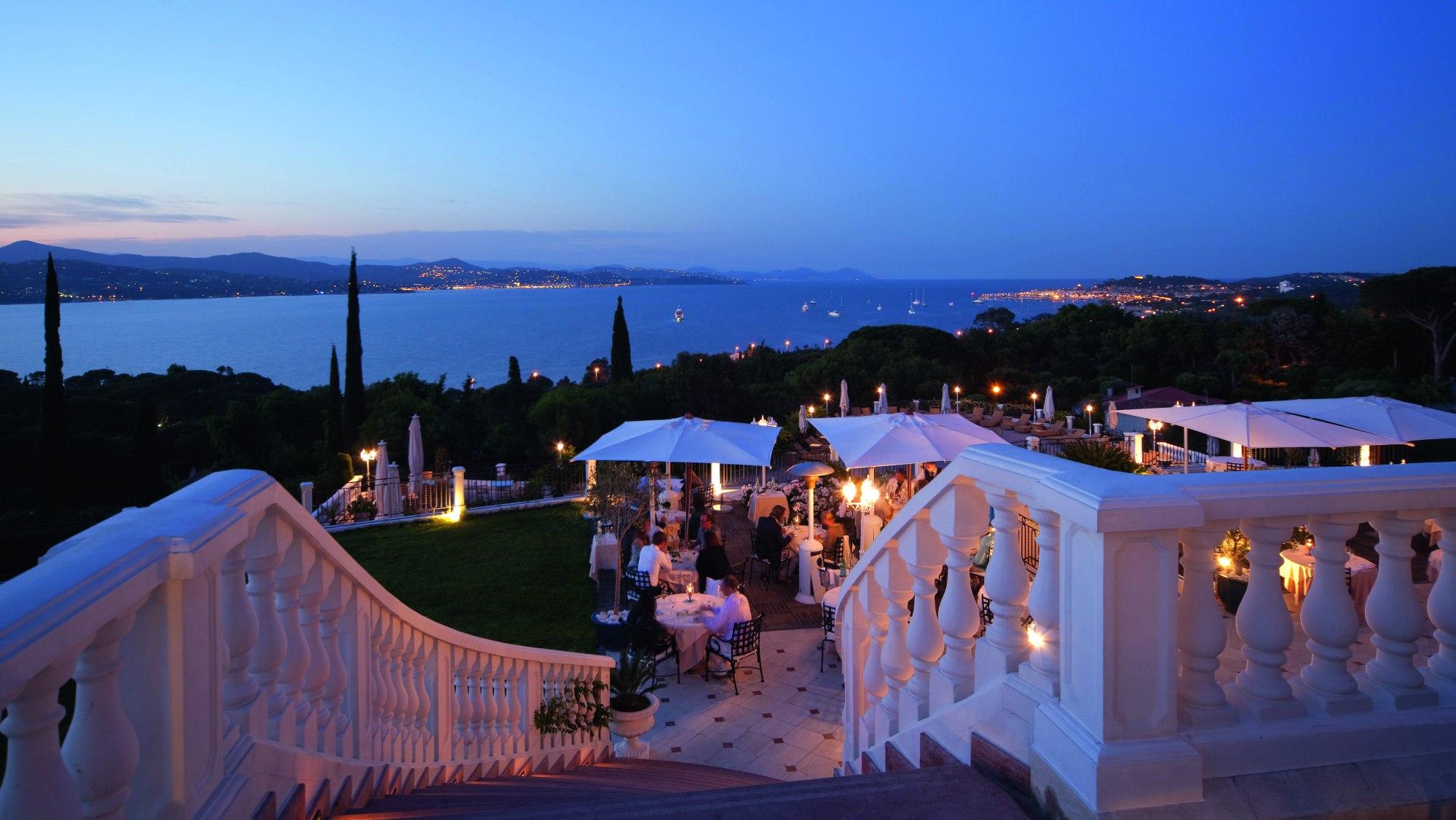 Althoff hotel Le Belrose Restaurant Terrace