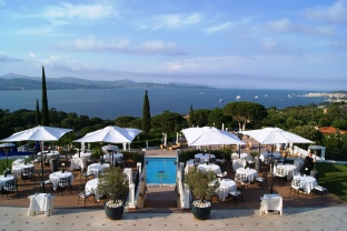Althoff hotel Villa Belrose restaurant terrace