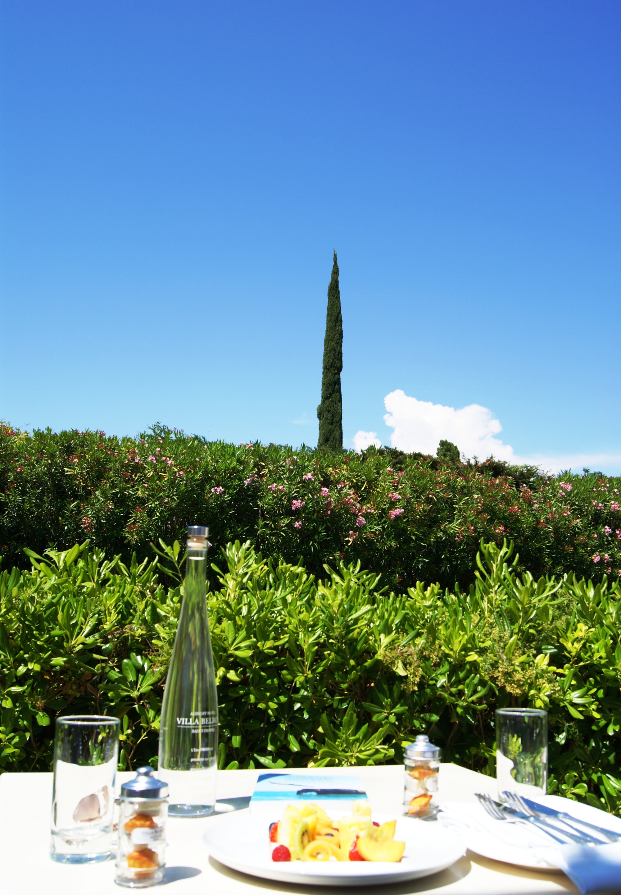 Althoff hotel Villa Belrose room garden