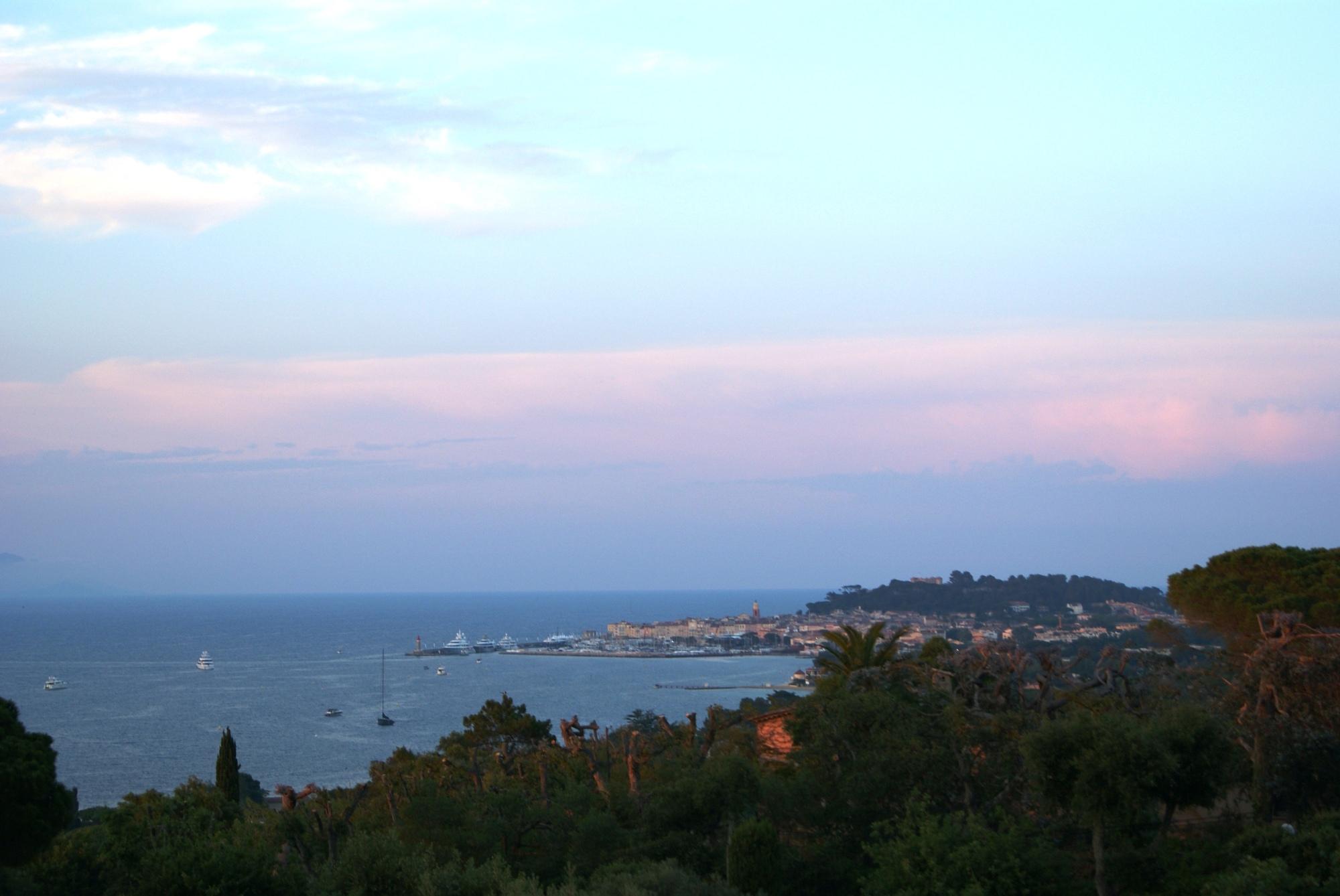 Althoff hotel Villa Belrose St Tropez view